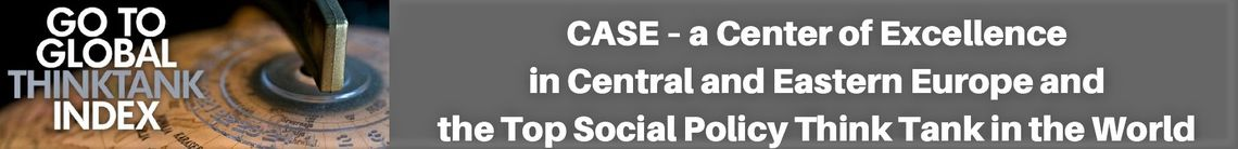 CASE ranked the Best Social Policy Think Tank in the world